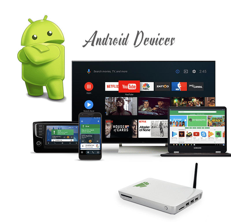 Android Device (Without Google Play store)
